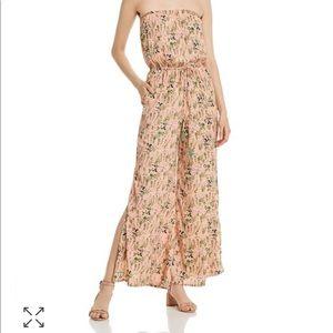 Floral BLUSH Jumpsuit